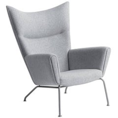 Ch445 Wing Chair by Hans J. Wegner for Carl Hansen & Son