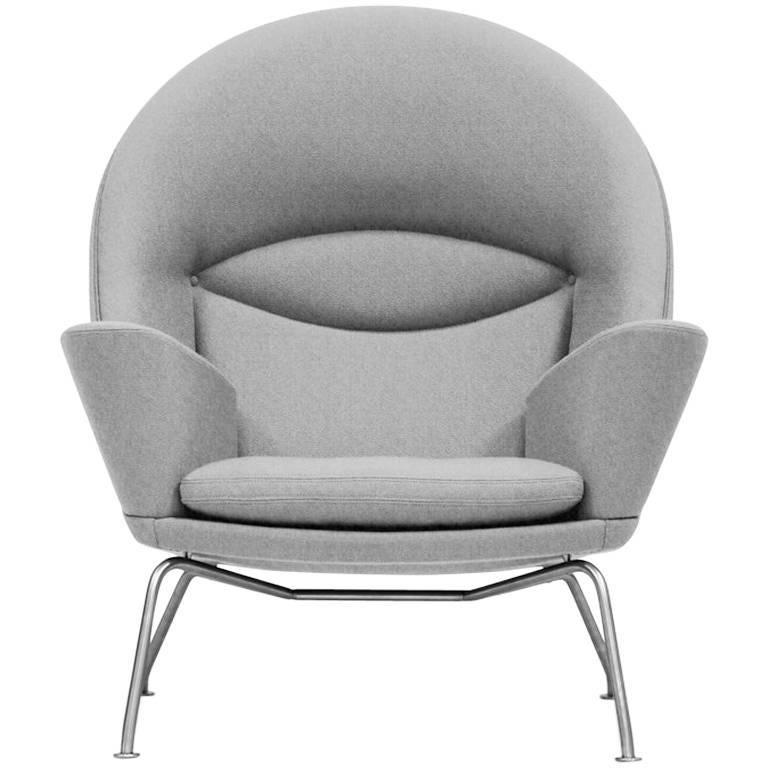 CH468 Oculus Lounge Chair by Hans J. Wegner for Carl Hansen & Son in Stock