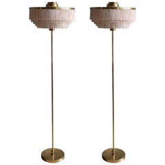 Rare Pair of Hans-Agne Jakobsson Floor Lamp Model G-110, 1960s