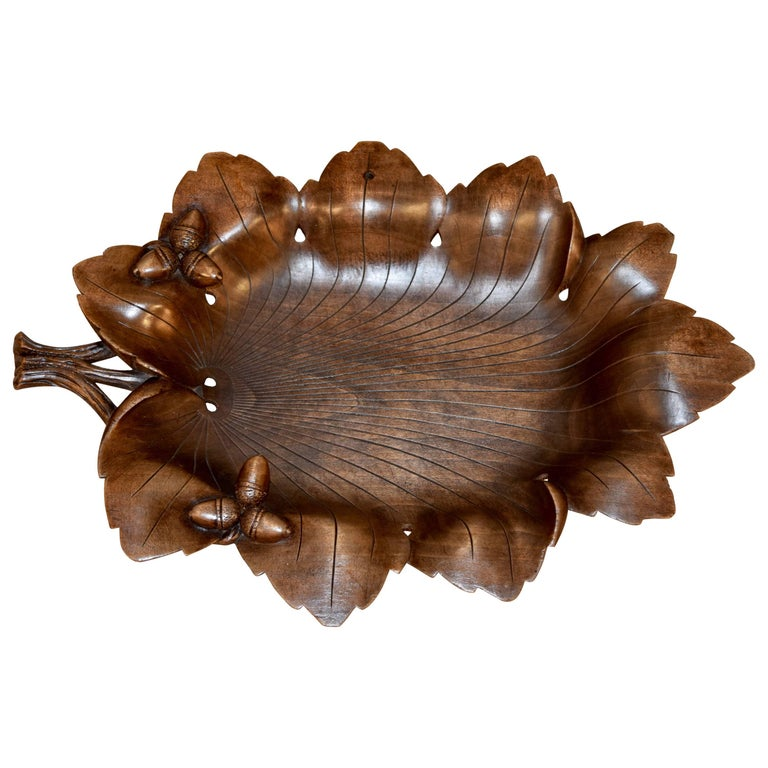 Late 19th Century Black Forest Tray