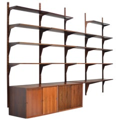 Danish Rosewood Cado Wall Unit by Poul Cadovius