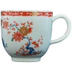 Coffee Cup, Kakiemon Decoration, Bow Porcelain Factory, circa 1753