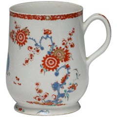 Baluster Mug, Kakiemon Decoration, Bow Porcelain Factory, circa 1753
