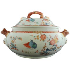 Soup Tureen, Kakiemon Decoration, Bow Porcelain Factory, circa 1755