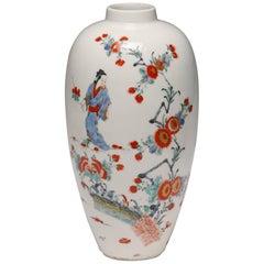 Vase, Kakiemon Decoration, Bow Porcelain Factory, circa 1755