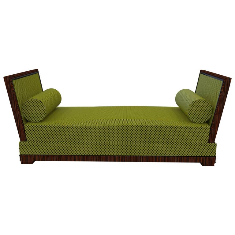 Two-Seat Sofa Art Deco Design