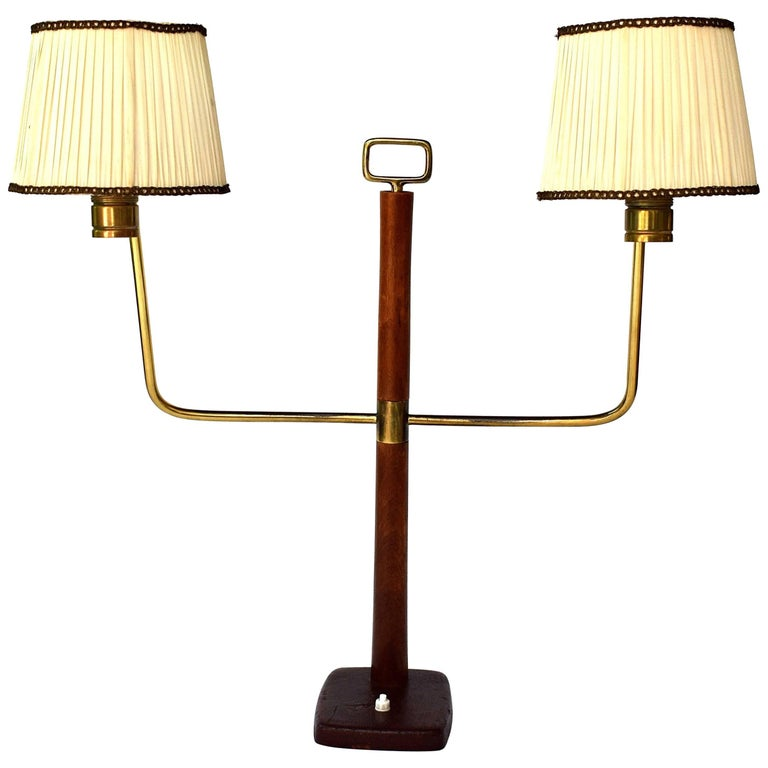 Large Table Lamp by Josef Frank for J.T. Kalmar, 1930s