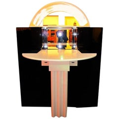 Expandable 1970s Bar Cabinet from Interlübke, Germany