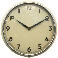 Midcentury Wall Clock