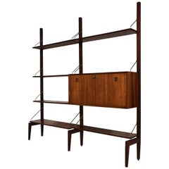 Midcentury Rosewood Modular Wall Unit by Louis Van Teeffelen for Topform, 1960s
