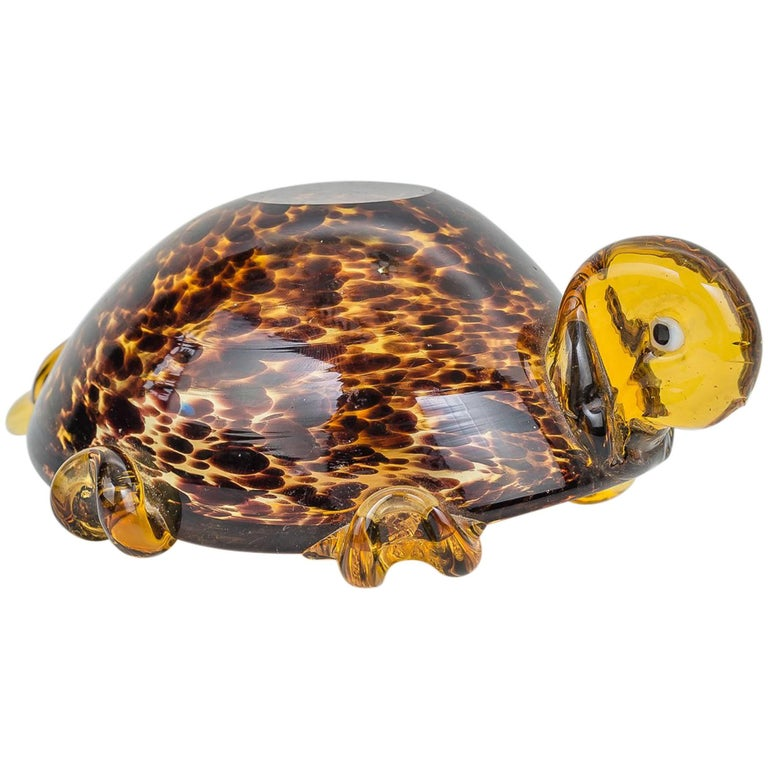 Turtle Ashtray by Murano