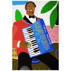 'The Entertainment' Portrait Painting by Alan Fears Pop Art