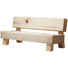 Soft Wood Sofa by Front Design for Moroso/Multi-Density Foam with Pine Structure