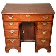 Mid-18th Century Mahogany Kneehole Desk