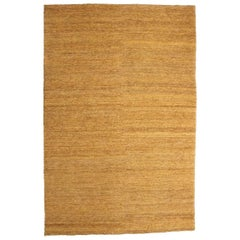 Ochre Earth Rug in Hand-Knotted Jute by Nani Marquina & Ariadna Miquel, Medium