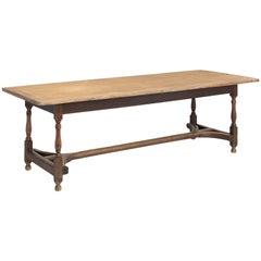 Oak Dining Table, England, circa 1850