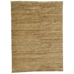 Noche Natural Hand-Knotted Jute Rug by Nani Marquina & Ariadna Miquel, Medium