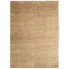 Natural Hand-Knotted Spun Nettle Rug by Nani Marquina & Ariadna Miquel, Medium