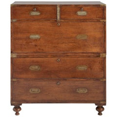 Campaign Chest of Drawers, England, circa 1910