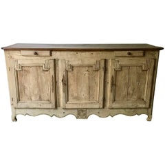 French 18th Century Period Oak Enfilade