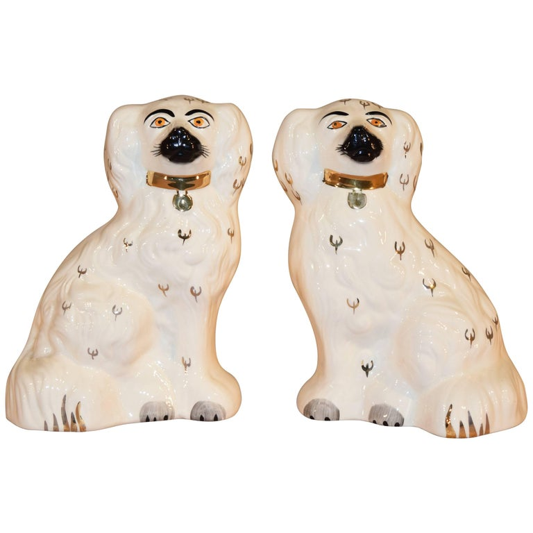 Pair of Beswick Spaniels, circa 1940