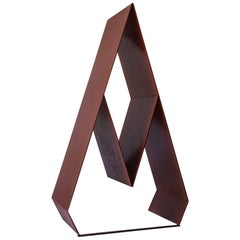 Abstract Italian Midcentury Steel Sculpture by Lino Sabattini, 1970s