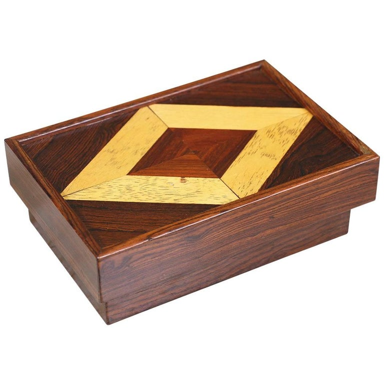 Don S. Shoemaker Rosewood Box for Señal Furniture