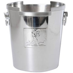 Machine Age Art Deco Rockwell Kent Chase Bacchus Wine Cooler / Champagne Bucket