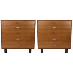 "Pair of George Nelson for Herman Miller Model 4620 ""Primavera"" Dressers"