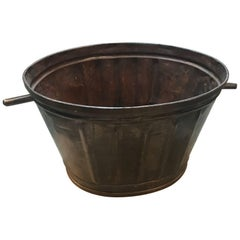 French 19th Century Grape Harvesting Baskets/Buckets