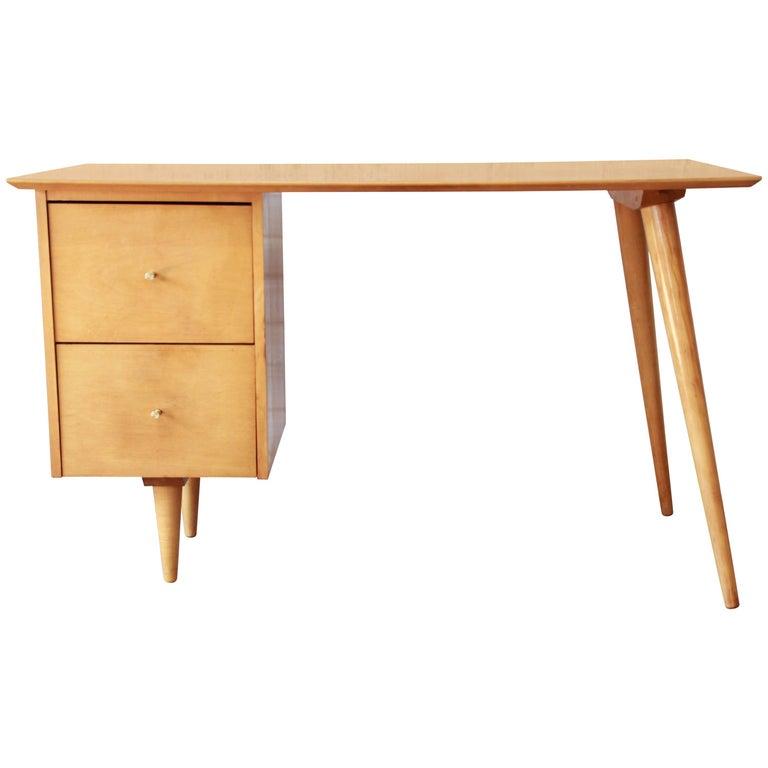 Paul McCobb Mid-Century Modern Planner Group Desk, 1950s For Sale