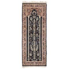 Vintage Pakistani Persian Style Mihrab Prayer Rug