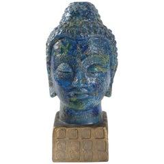 Bitossi Buddha Italy Aldo Londi, circa 1965 Chinese Glaze