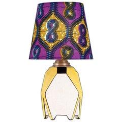 Vintage Ceramic Art Deco Table Lamp