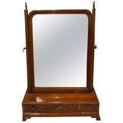 Mahogany Box Base Mirror