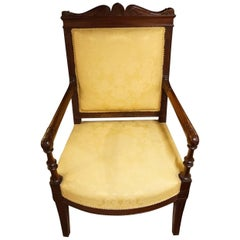 19th Century French Carved Armchair