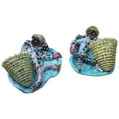 Ceramic Otello Rosa Sconces for San Polo Design, Venezia