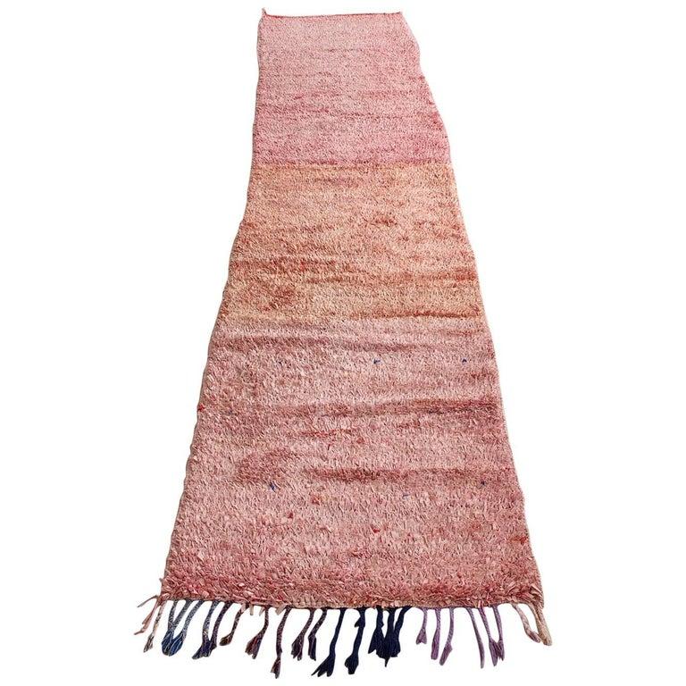 Moroccan Boucherouite Rug For Sale
