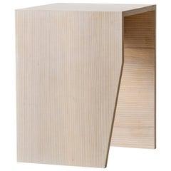 Zooey Side Table, American Hardwood
