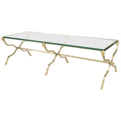 French Directoire Style '20th Cent.' Steel Coffee Table