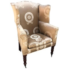 Baltimore Wing Back Chair, circa 1810