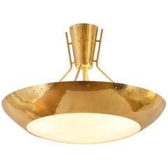 Itsu Finland Brass Flush Mount Light Fixture