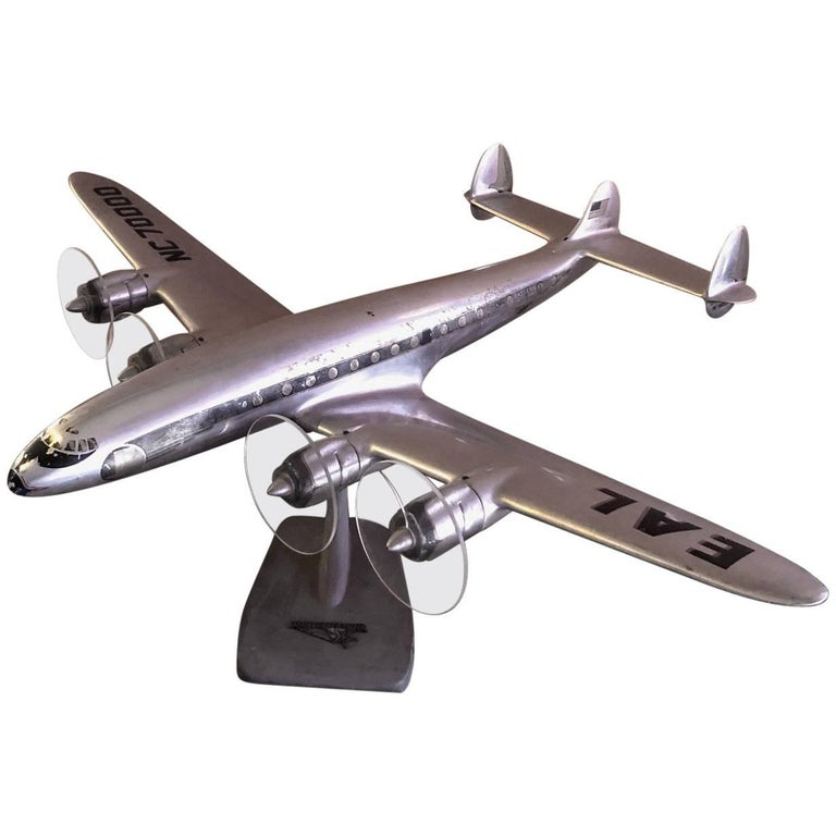 Eastern Airlines Super Constellation Aluminium Model Airplane For Sale