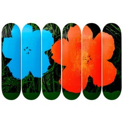 Flowers Skate Decks after Andy Warhol