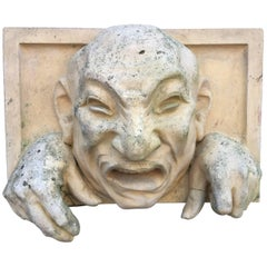 High Relief Sculpture in Terracotta, circa 1900