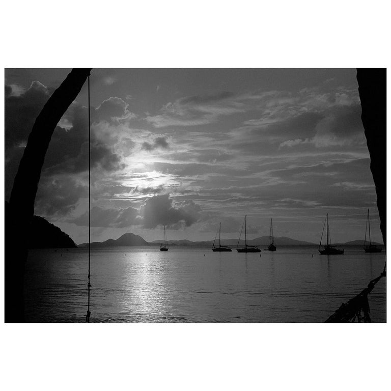 """Sunset Caribbean,"" 1989 by Robin Rice"