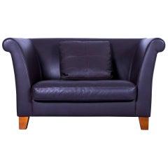 Machalke Ritz Leather Sofa Brown Two-Seat Love-Chair