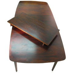 Mid-Century Modern Danish with Brazilian Rosewood Dining Table