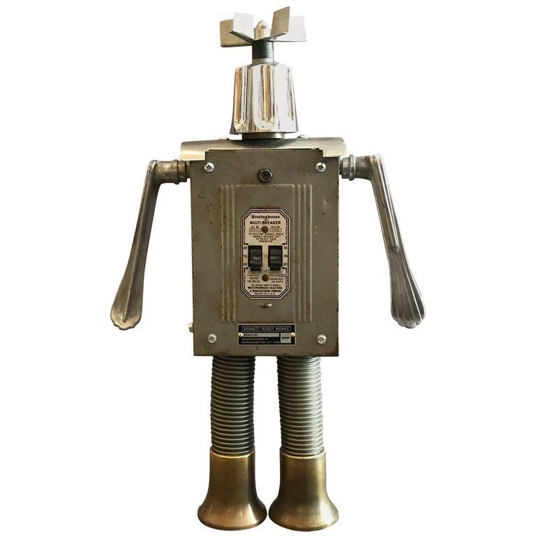 Breaker Robot Sculpture By Bennett Robot Works