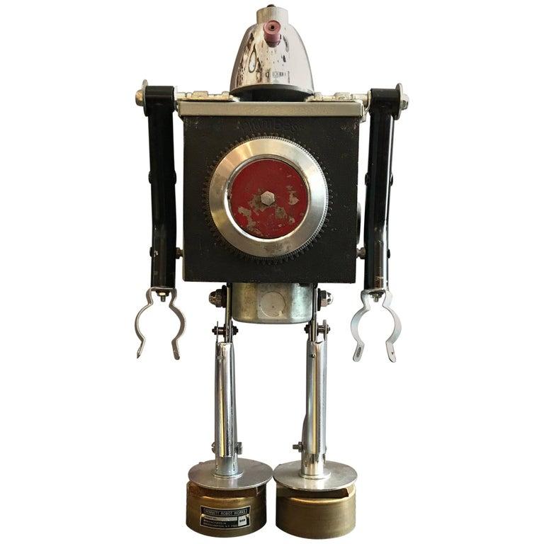 Plumbest Robot Sculpture by Bennett Robot Works